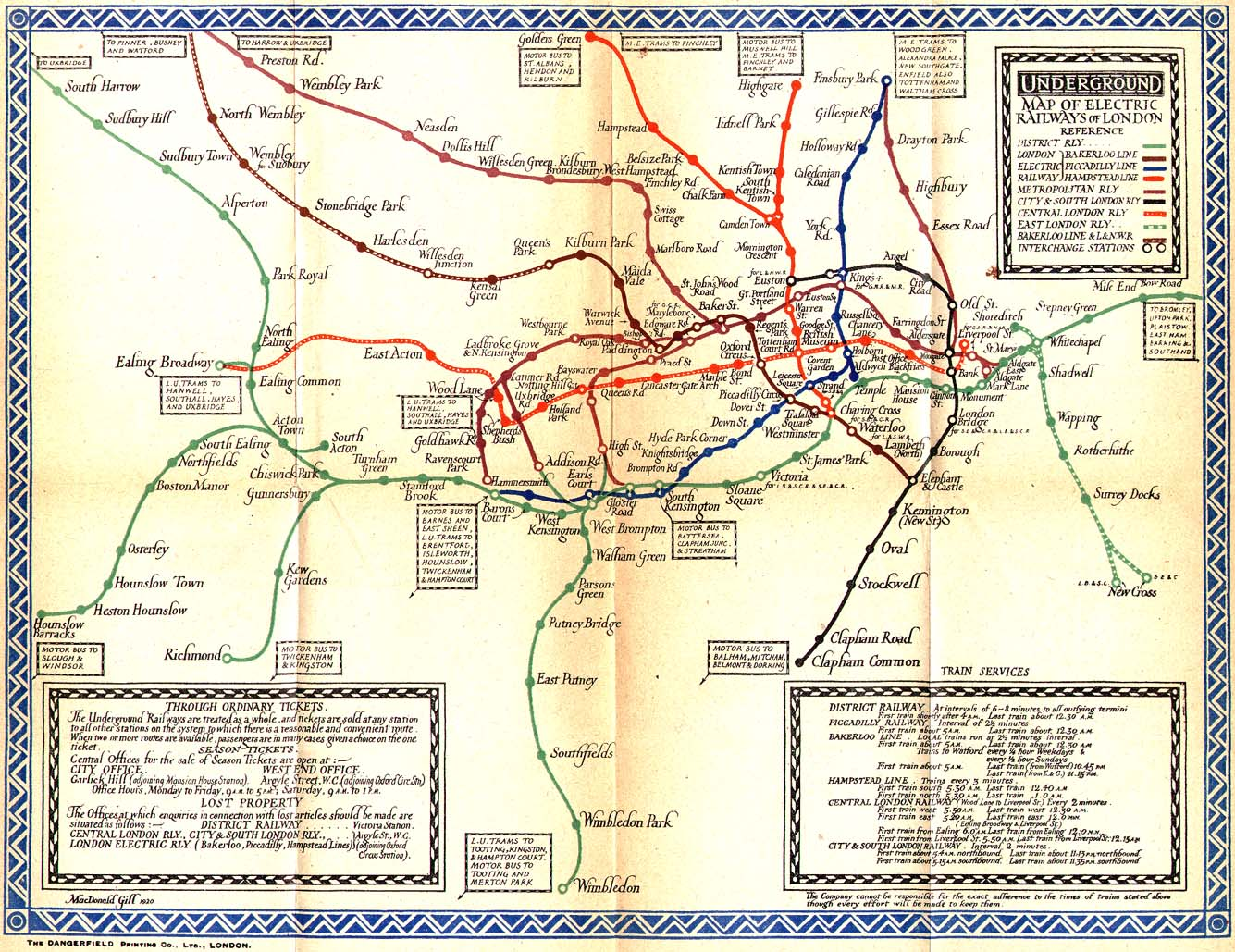 The London Tube Map Archive Mirror